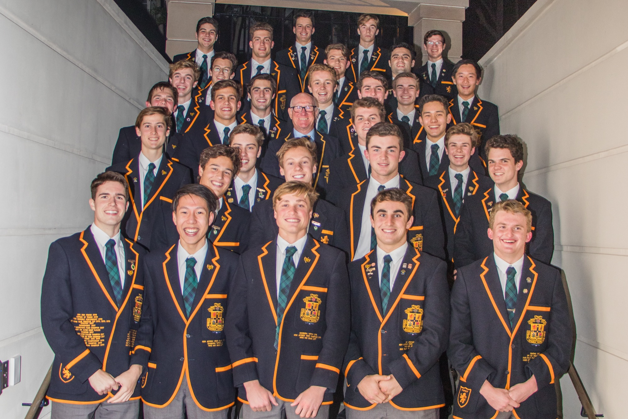 The Prefects and the Old Boys' Union President, 2018