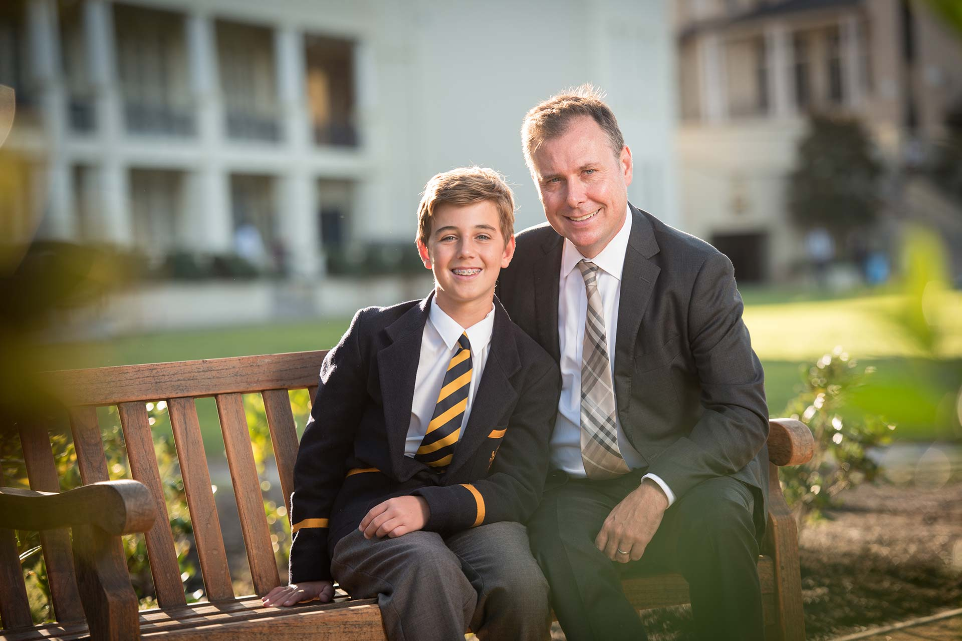 Andrew and William Patterson