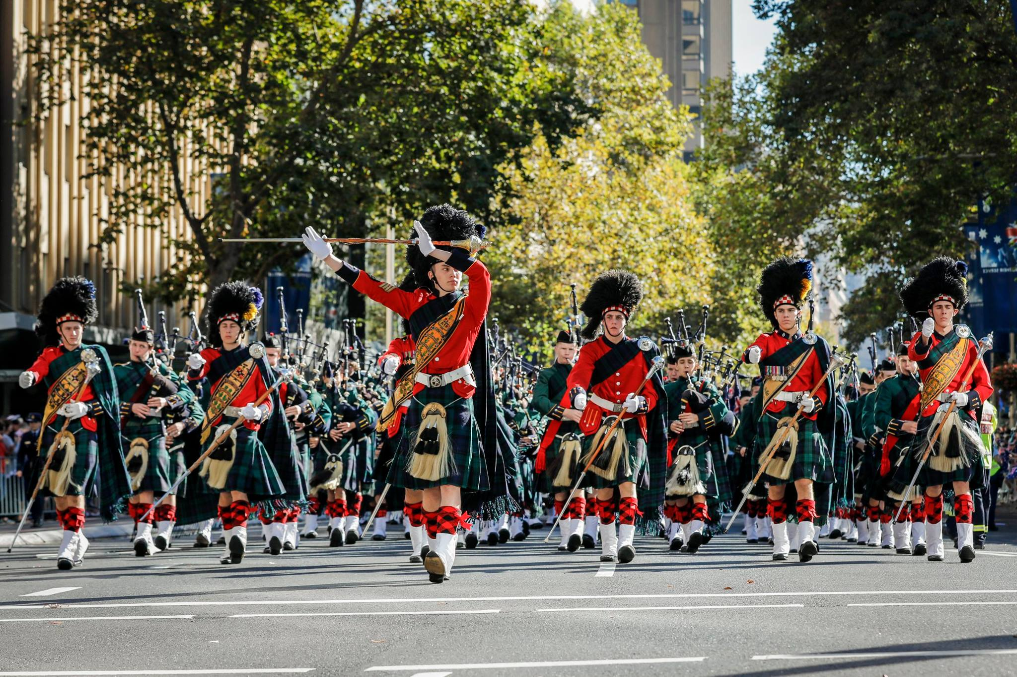 Pipes and Drums Parade